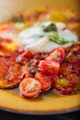 Pasta rellena Capelli del Prete alla Búgala 0541